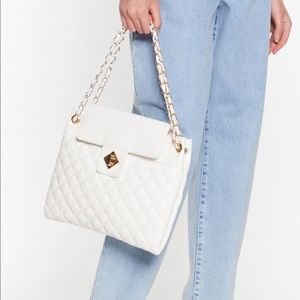 NWT Quilted Crossbody Bag